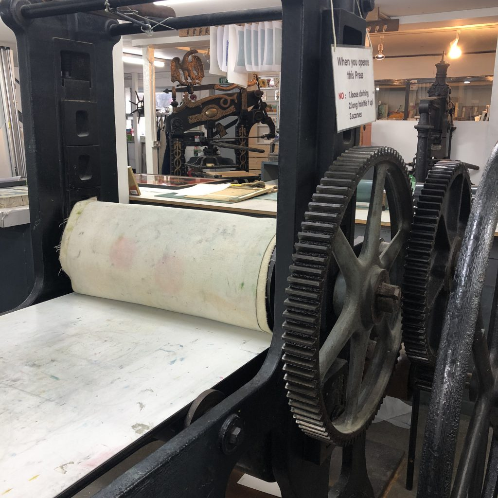 Printmaking press st barnabas press